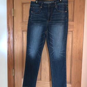 American Eagle Hi-Rise skinny stretch jeans